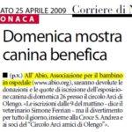25-04-2009 Corriere di Novara