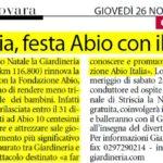 26-11-2009 Corriere di Novara