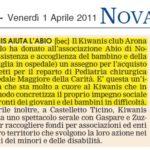 01-04-2011 Novara Oggi